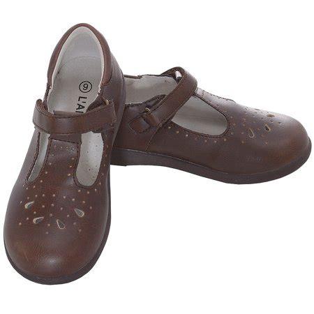 l amour brown punch detail dress shoes 11 1 walmart