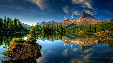landscapes nature lakes scene wallpapers