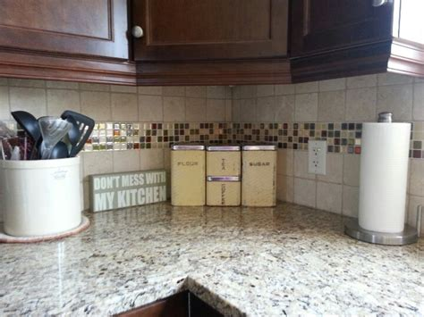 peel stick backsplash new peel and stick backsplash home inspiration