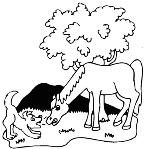 coloring pages of horses and puppies free rainforest coloring pages