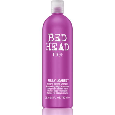 bed head tigi tigi bed head fully loaded massive volume shoo 750ml