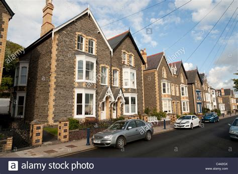 semi detached house or row house a row of solidly built 1930 s semi detached town houses in