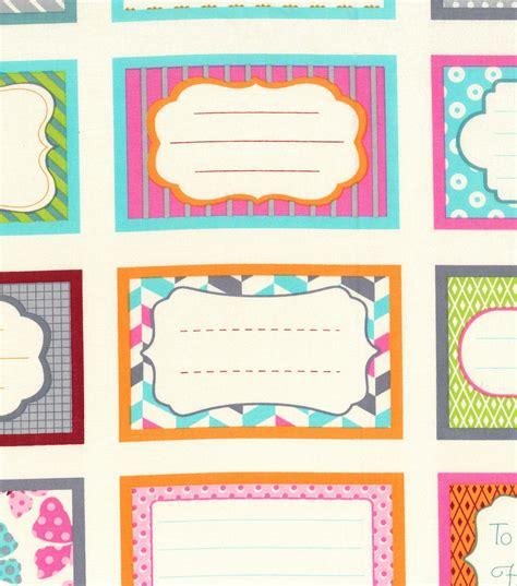 Joann Fabric Gift Card Online - novelty cotton fabric gift labels jo ann