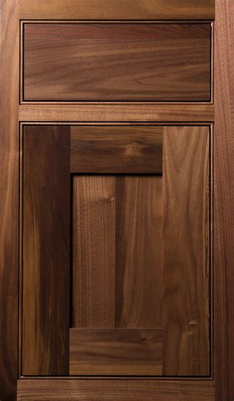 Walnut Cabinet Doors Plain Fancy
