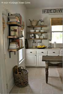 Kitchen Shelves And Cabinets by Feature Friday Our Vintage Home Love Southern Hospitality