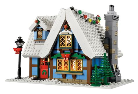 lego winter cottage winter cottage set is a lego s forevergeek