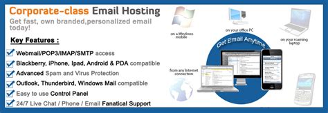 cheap mail hosting corporate email hosting email web hosting company email