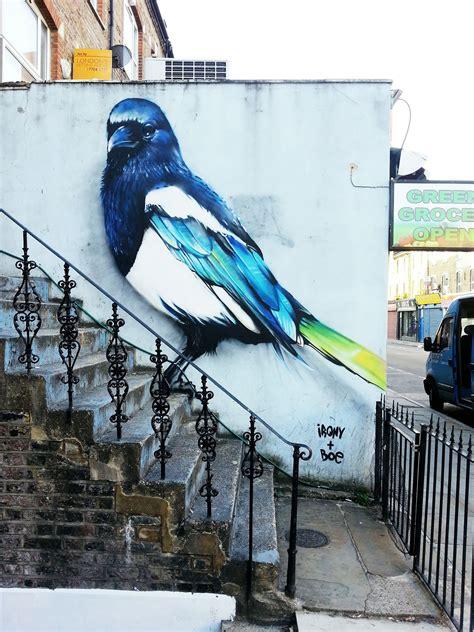 ironys graffiti burns  london scene