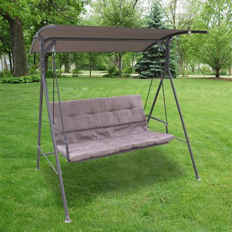 porch swing canopy replacement parts 2 seat patio swing cushions icamblog