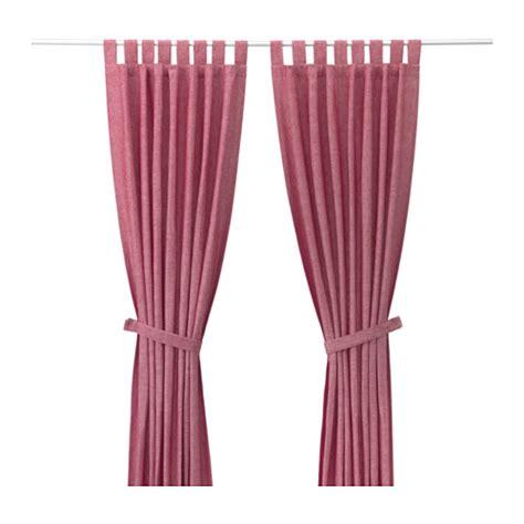 lenda curtains ikea lenda curtains with tie backs 1 pair 140x300 cm ikea