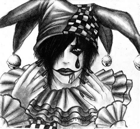 imagenes emo y goticas arlequines goticos imagui