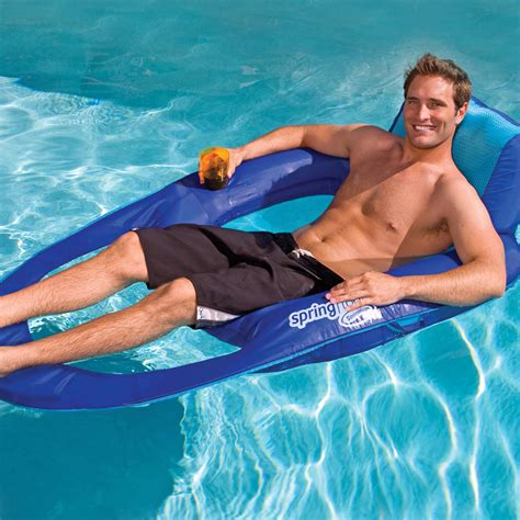spring float recliner with canopy swimways spring float recliner with canopy spring floats