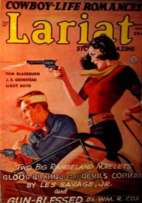 rough edges saturday morning western pulp lariat story