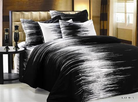 Black And White Duvet Covers Black And White Duvet Cover Set By Arya Home