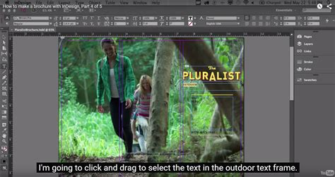 indesign tutorials for beginners free adobe indesign cc for beginners how to style your text