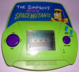 simpsons subaru simpsons handheld electronic scoobynet