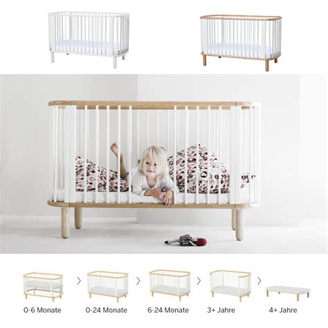 Babybett Design by 5 In 1 Babybett Kinderbett Flexa Baby Massivholz