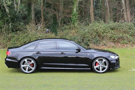 Audi A6 S Line Alloys by 2012 Audi A6 S Line Black Edition Used Car Sales Malahide