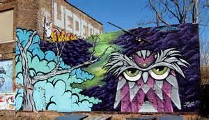 Stencil Wall Murals graffiti art bikes books amp a little music