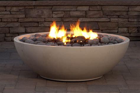 Mezzaluna fire bowl eldorado stone