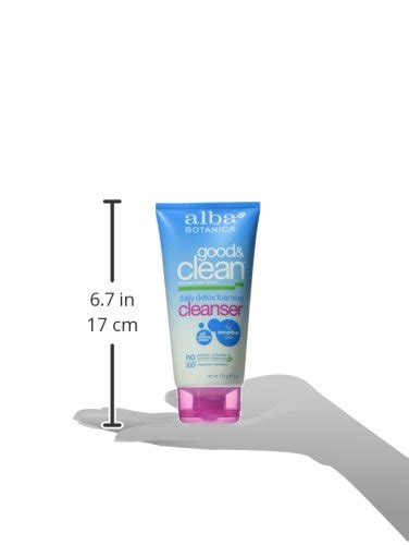 Alba Clean Daily Detox Foaming Cleanser by Alba Botanica And Clean Daily Detox Foaming Cleanser
