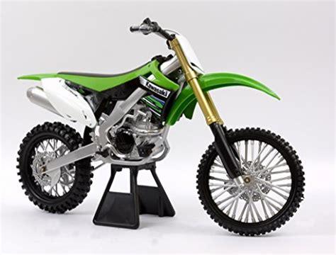 Newray 112 Kawasaki K 450f Hijau Putih newray 1 12 2012 kawasaki kf450f bike diecast vehicle import it all
