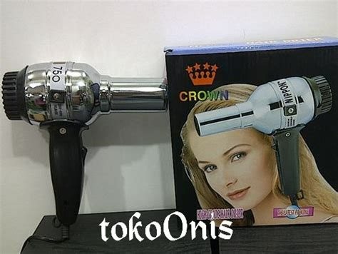 Hair Dryer Merk Crown harga hairdryer murah