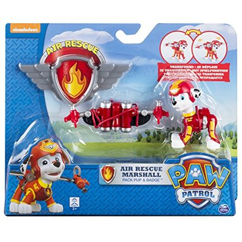 Murah Gaeess Paw Patrol Air Rescue Pack Pup Badge paw patrol air rescue marshall pup pack badge import it all