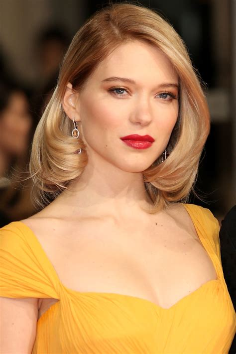 lea seydoux looks like gigi hadid just wore a killer cat eye lancome lips and