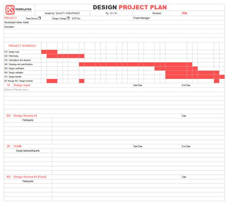 Best Project Plan Template For Excel 9 Free Word Excel Pdf Format Design Project Plan Template Excel