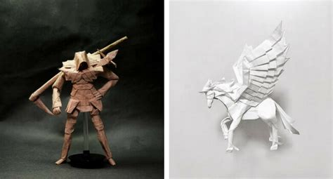 Amazing Paper Folding - 31 amazing origami pieces that are so complex you need