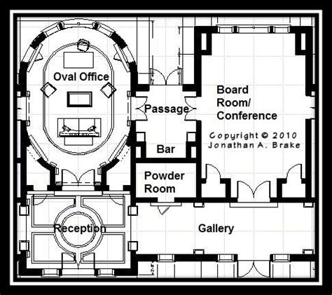 what floor is the oval office on 17 best images about architect house plans on pinterest