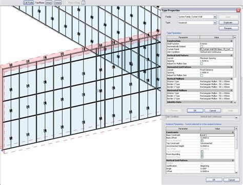 how to create curtain wall in revit revitcity com glassed door on curtain wall