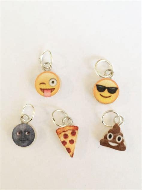 Emoji Jewelry | polymer clay emoji charms polymer clay jewelry emoji