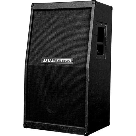 dv c 212 v vertical slant 2x12 guitar speaker cabinet