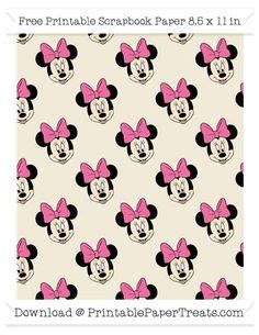 paper pattern of aai minnie mouse is a funny animal cartoon character created