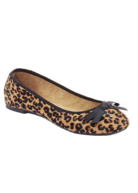 flat leopard shoes rebel leopard ballet pumps rebel flat