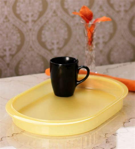 Tupperware Tray tupperware 1 pc yellow oval tray by tupperware