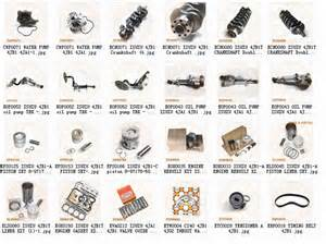 Isuzu Forklift Engine Parts Tcm Forklift Isuzu 4jb1 4ja1 Engine Parts Manufacturer