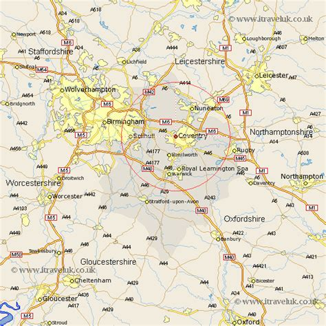 map uk coventry coventry map and road maps of warwickshire uk