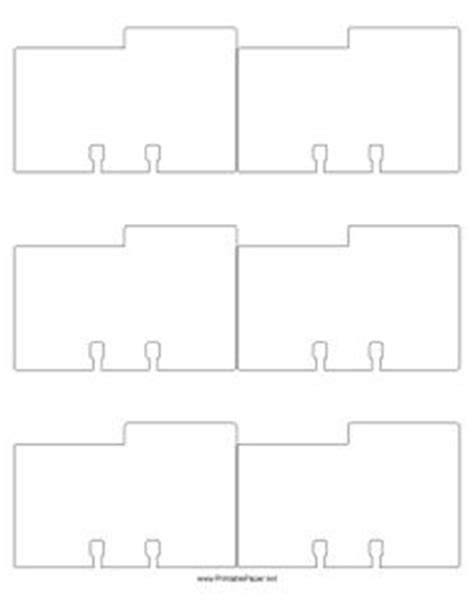 bgg card divider template printable index card templates 3x5 and 4x6 blank pdfs