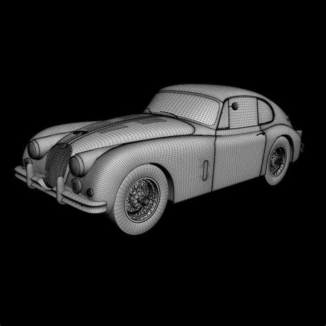 jaguar xk  fastback  model max obj ds dwg