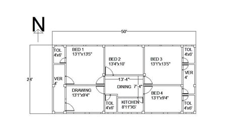 cost to engineer house plans civil engineering a 50 x24 home floor plan of a tinshed home