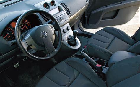 nissan sentra interior 2007 honda civic si vs nissan sentra se r comparison motor