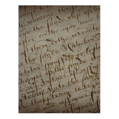 writing parchment paper parchment text with antique writing paper postcard