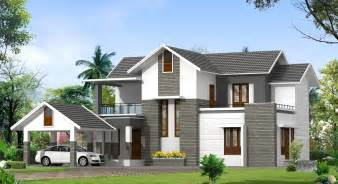 Contemporary House Plans Contemporary Model Kerala Houses So Replica Houses