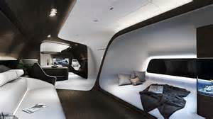 Recling Sofas Mercedes Benz And Lufthansa Technik Create The Ultimate