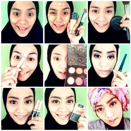tutorial makeup natural wanita berhijab cara make up natural hijab terkini dan terbaik