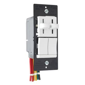 electrical how can i dim two sets of lights and run a