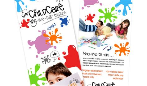 Day Care Brochure Exles Brickhost 5a63ea85bc37 Home Daycare Flyers Free Templates